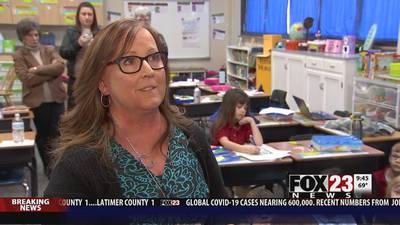 VIDEO: This week's Golden Apple winner is Patricia Cox